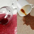 Brown & Red stain removal - Murrieta, CA