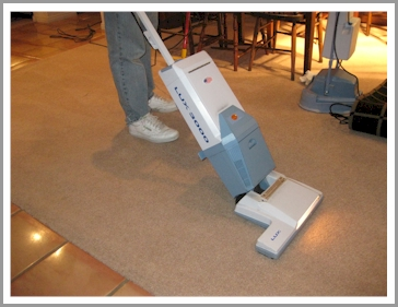 3B's Carpet Cleaning Process
